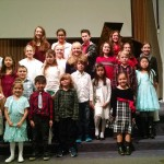 Piano, guitar, and voice students at Northwest School of Music have lots of fun showing off the music they've learned at our annual Christmas Recitals. Here's last year's first group of students.